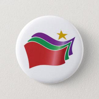 Badge Rond 5 Cm Coalition du bouton gauche radical de SYRIZA