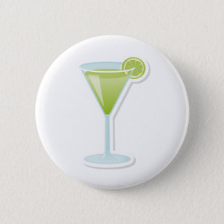 Badge Rond 5 Cm Cocktail de chaux