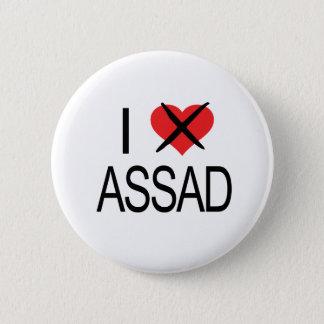 Badge Rond 5 Cm COEUR Assad-01 de HAINE