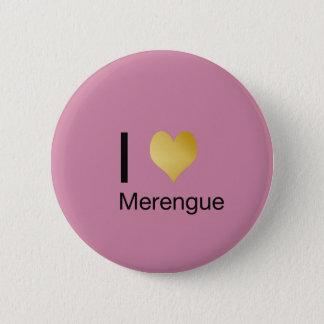 Badge Rond 5 Cm Coeur par espièglerie élégant Merengue d'I