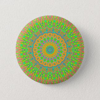 Badge Rond 5 Cm Coin de l'amour et du Haight
