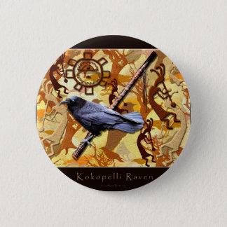 Badge Rond 5 Cm Collection de KOKOPELLI RAVEN