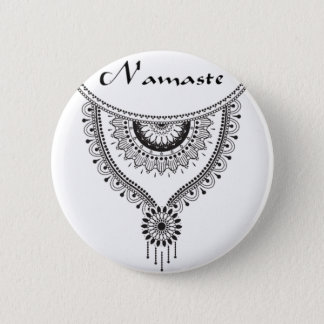 Badge Rond 5 Cm Collection de Namaste