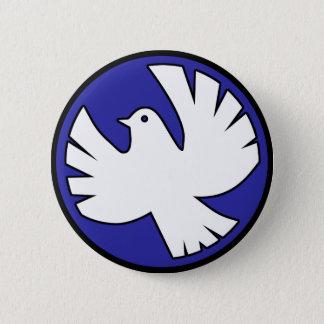 Badge Rond 5 Cm Colombe de Saint-Esprit