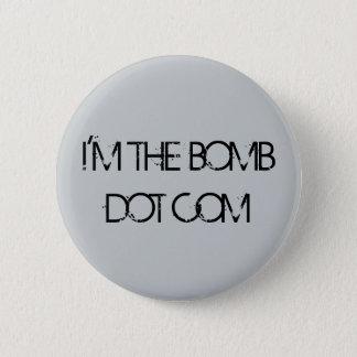 Badge Rond 5 Cm COM de POINT de BOMBE se boutonnent