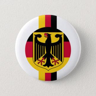 Badge Rond 5 Cm Conception de couleurs du Deutschland Fussball