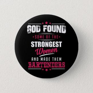 Badge Rond 5 Cm Conception hilare de profession de barmans faite