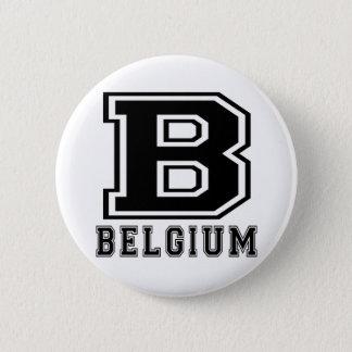 Badge Rond 5 Cm Conceptions de la Belgique