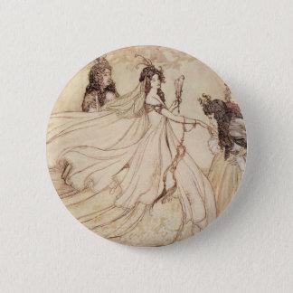 Badge Rond 5 Cm Contes de fées vintages, Cendrillon par Arthur