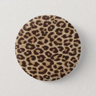 Badge Rond 5 Cm Copie de peau de guépard