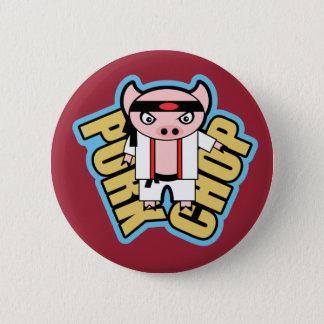 Badge Rond 5 Cm Côtelette de porc