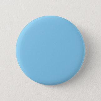 Badge Rond 5 Cm Couleur bleue adorable câline