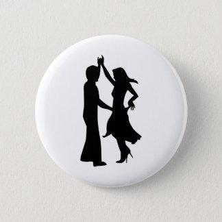 Badge Rond 5 Cm Couples standard de danse