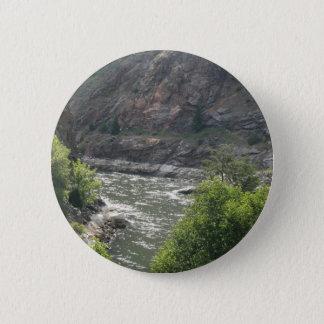 Badge Rond 5 Cm Courbure de rivière