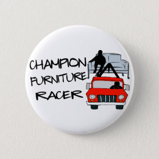 Badge Rond 5 Cm Coureur de meubles de champion