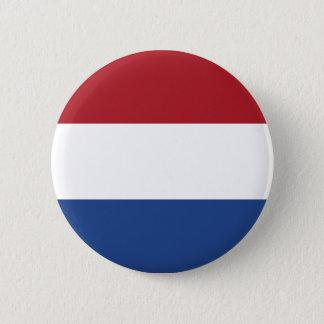 Badge Rond 5 Cm Coût bas ! Drapeau néerlandais des Caraïbes