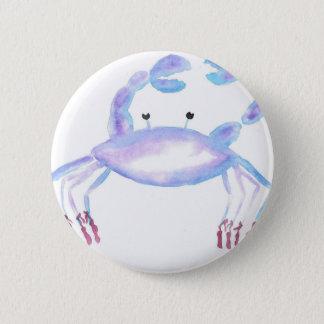 Badge Rond 5 Cm Crabe faisant le ballet