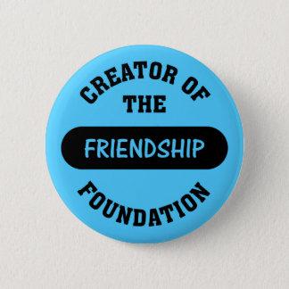 Badge Rond 5 Cm Créateur de base d'amitié
