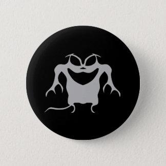Badge Rond 5 Cm Créature gothique de Halloween de style