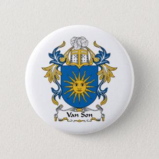 Badge Rond 5 Cm Crête de Van Son Family