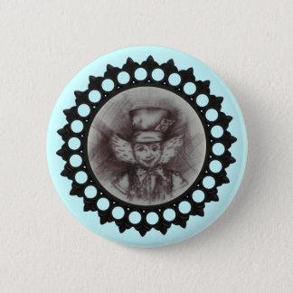 Badge Rond 5 Cm Croquis fou de chapelier