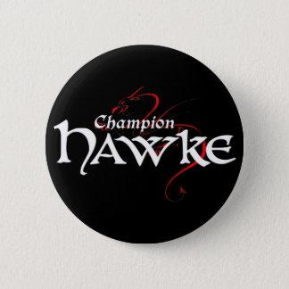 Badge Rond 5 Cm DA2 - Champion HAWKE - bouton (foncé)