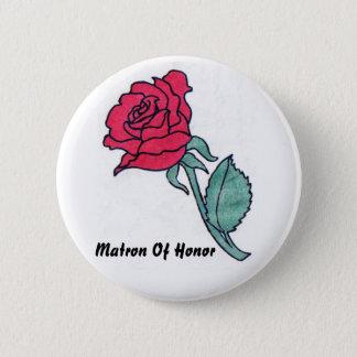Badge Rond 5 Cm Dame de honneur