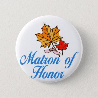 Badge Rond 5 Cm Dame de honneur - chute