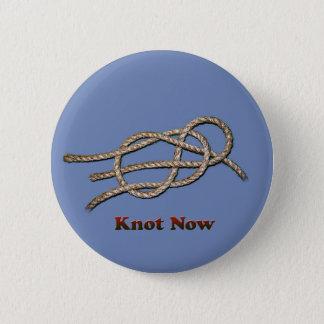 Badge Rond 5 Cm De noeud boutons maintenant -