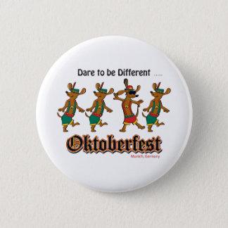 Badge Rond 5 Cm Défi-à-Être-Différent-Oktoberfest
