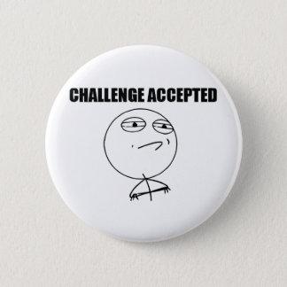 Badge Rond 5 Cm Défi admis
