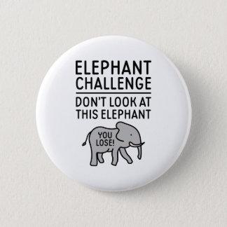 Badge Rond 5 Cm Défi d'éléphant