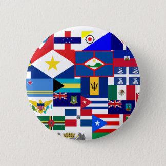 Badge Rond 5 Cm des Caraïbes