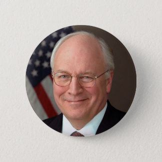 Badge Rond 5 Cm Dick Cheney