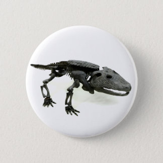 Badge Rond 5 Cm Dinosaure