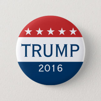 Badge Rond 5 Cm Donald Trump 2016