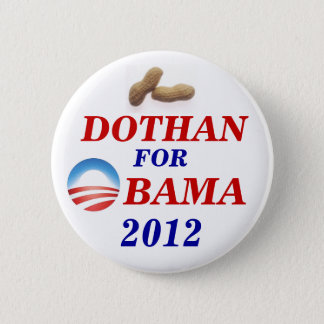 Badge Rond 5 Cm Dothan pour Obama