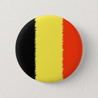 Badge Rond 5 Cm Drapeau belge