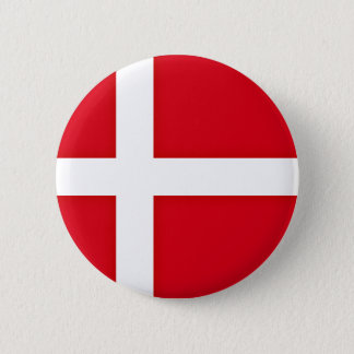 Badge Rond 5 Cm Drapeau danois