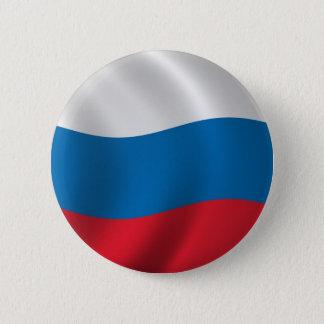 Badge Rond 5 Cm Drapeau de la Russie