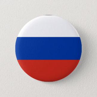 Badge Rond 5 Cm Drapeau de la Russie - ФлагРоссии - Триколор