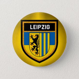 Badge Rond 5 Cm Drapeau de Leipzig