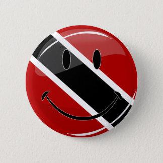 Badge Rond 5 Cm Drapeau de sourire rond brillant du