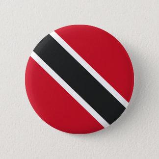 Badge Rond 5 Cm Drapeau de Trinidadtobago