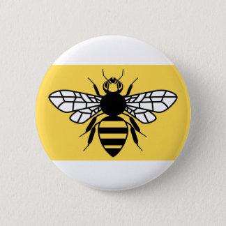 Badge Rond 5 Cm Drapeau du comté de plus grand Manchester