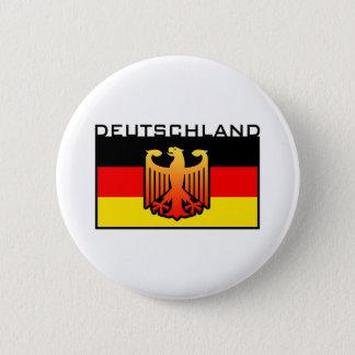 Badge Rond 5 Cm Drapeau du Deutschland