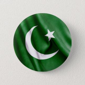 Badge Rond 5 Cm Drapeau du Pakistan