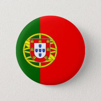 Badge Rond 5 Cm Drapeau du Portugal