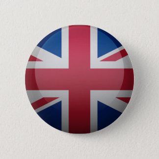 Badge Rond 5 Cm Drapeau du Royaume-Uni
