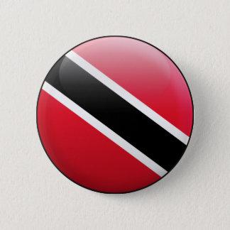 Badge Rond 5 Cm Drapeau du Trinidad-et-Tobago